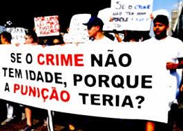 CRIME NÃO TEM DIDADE
