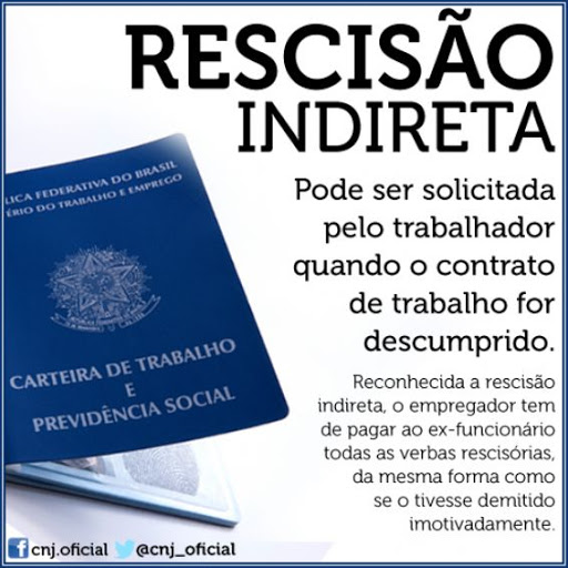 RESCISDÃO INDIRETA